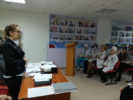 Семинар для  медицинских  работников г. Актобе