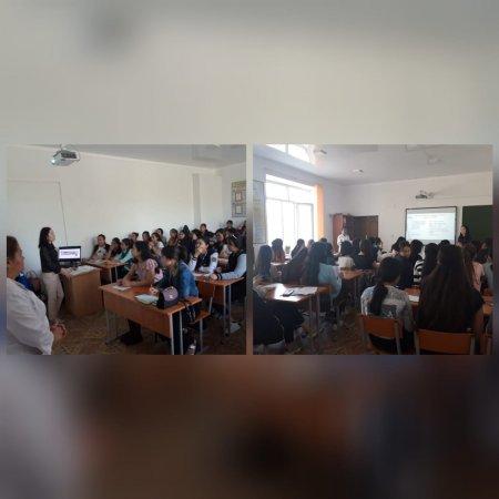 Встреча со студентами колледжа сервиса г. Актобе