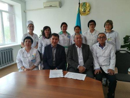 Рабочая встреча с директором КНЦДИЗ в г.Актобе