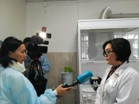 Интервью для телеканала «Aqtóbe»