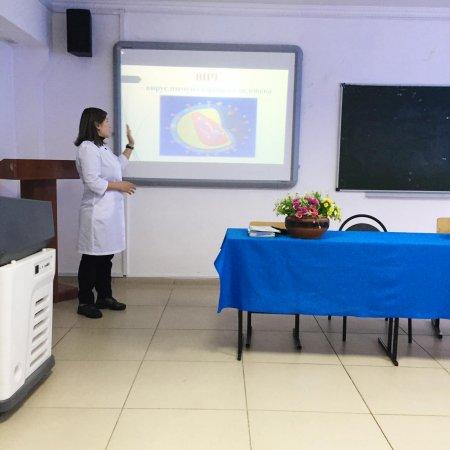 Лекция по профилактике ВИЧ-инфекции для студентов г.Актобе