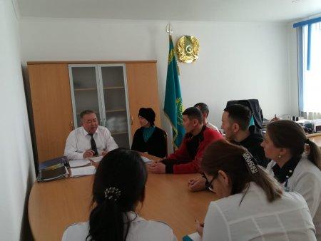 Встреча с аутрич работниками среди КГН в г.Актобе